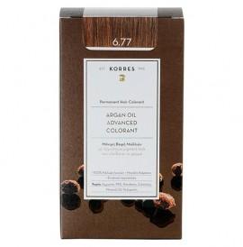 Korres Βαφή Argan Oil Advanced Colorant 7.7 Ξανθό Μόκα