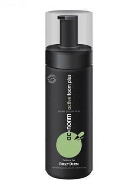 Frezyderm Ac-Norm Active Foam Plus - Ενεργός Αφρός Καθαρισμού για την Ακμή, 150ml