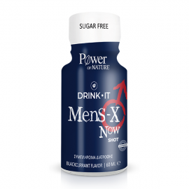 Power Health Drink It Mens X Now Συμπλήρωμα Διατροφής Για Στυτική Λειτουργία 60ml