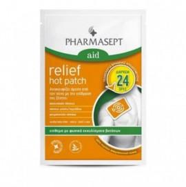 Pharmasept Aid Relief Hot Patch, Επίθεμα με Εκχυλίσματα Βοτάνων 9x14cm 1τμχ