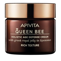 Apivita Queen Bee, Kρέμα Ημέρας Ολιστικής Αντιγήρανσης Πλούσιας Υφής, 50ml