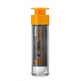 Frezyderm Active Sun Screen Face Fluid SPF50+, Αντηλιακή Κρέμα Προσώπου Λεπτόρευστης Υφής 50ml