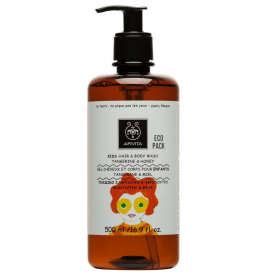 Apivita Kids Hair & Body Wash Σαμπουάν & Αφρόλουτρο με Μανταρίνι & Μέλι 500ml