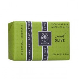 Apivita Apivita Natural Soap Σαπούνι με Ελιά για τις ξηρές επιδερμίδες 125gr