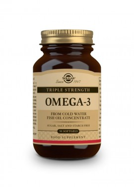 Solgar Omega 3 Triple Strength 50 softgels