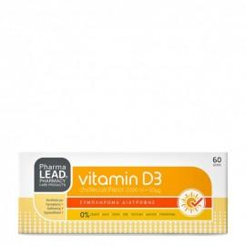 PharmaLead Vitamin D3 2000iu 60 ταμπλέτες