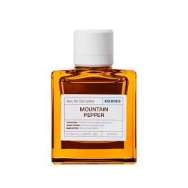 Korres Mountain Pepper Eau De Toilette 50 ml
