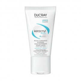 Ducray Keracnyl Repair Crème, Κρέμα που Ενυδατώνει-Καταπραϋνει το Λιπαρό Δέρμα 50ml