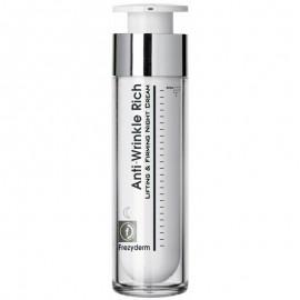 Frezyderm Anti-Wrinkle Rich Night Cream (45+) - Αντιρυτιδική Κρέμα Νύχτας Με Συσφικτική Ανορθωτική Δράση 50ml