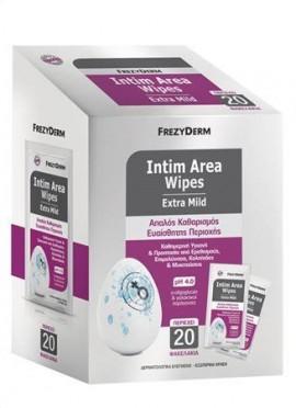 Frezyderm Intim Area Wipes pH 4.0 20 wipes
