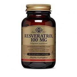 Solgar Resveratrol 100mg Αντιοξειδωτικό 60 Φυτικές Κάψουλες