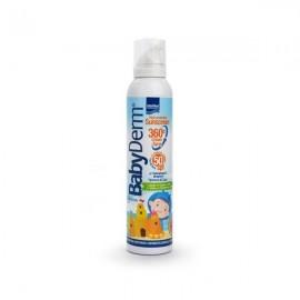Intermed Babyderm Sunscreen 360 Creamy Spray face & body 200 ml