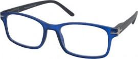 Eyelead Γυαλιά Διαβάσματος Unisex Χρώμα Μαύρο - Μπλε, με Κοκκάλινο Σκελετό E202