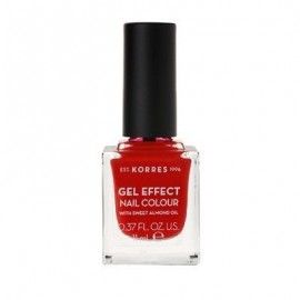 Korres Gel Effect Nail Colour 48 Coral Red 11 ml