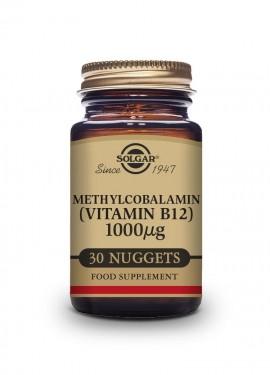 Solgar Methylcobalamin Vitamin B12 1000mcg 30 υπογλώσσια δισκία