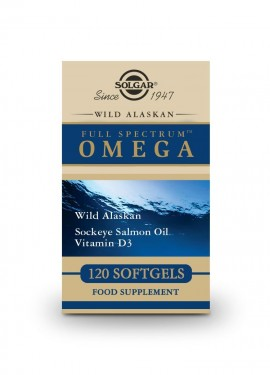 Solgar Wild Alaskan Full Spectrum Omega 120 softgels