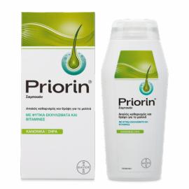 Priorin Σαμπουάν για Κανονικά Ξηρά μαλλιά 200 ml