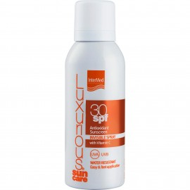 Intermed Luxurious Sun Care Antioxidant Sunscreen Invisible Spray SPF30, Αντηλιακό Σπρέι Με Βιταμίνη C - 100ml