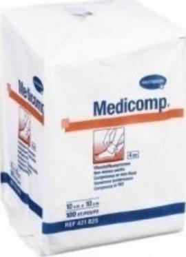 Hartmann Medicomp μη αποστειρωμένα, 4πλά 10x10cm 100τμχ