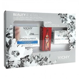 Vichy Promo Liftactiv Supreme Normal To Combination Skin 50 ml & Liftactiv Supreme Night 15 ml & Liftactiv Glyco- C Αμπούλα Νύχτας 2 ml