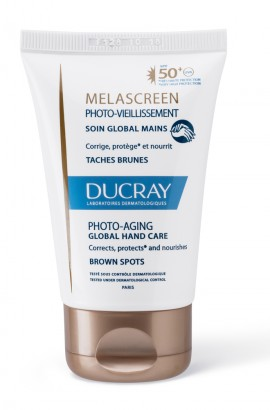 Ducray Promo Melascreen Photo-Aging Crème Mains Global SPF50 Κρέμα Χεριών για Καφέ Κηλίδες 50ml