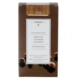 Korres Βαφή Argan Oil Advanced Colorant 7.0 Ξανθό