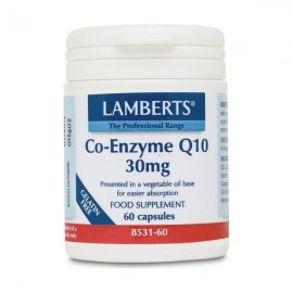 Lamberts Co-Enzyme Q10 30mg 60 Capsules