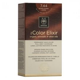 Apivita My Color Elixir Βαφή Μαλλιών 7.44 Ξανθό Έντονο Χάλκινο