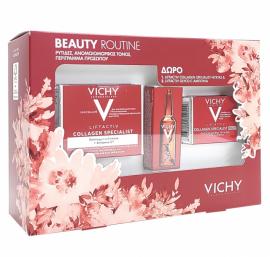 Vichy Promo Liftactiv Collagen Specialis 50 ml & Liftactiv Collagen Specialist Night 15 ml & Liftactiv Glyco- C Αμπούλα Νύχτας 2ml
