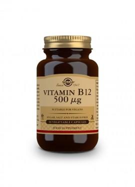 Solgar Vitamin B-12 500ug 50 Capsules