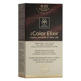 Apivita My Color Elixir 6.65 Βαφή Μαλλιών Έντονο Κόκκινο
