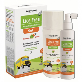 Frezyderm Lice Free Set - Αντιφθειρική Αγωγή Shampoo 125 ml