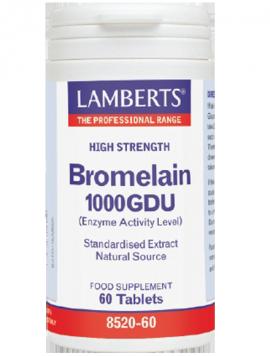 Lamberts Bromelain 1000 Gdu 60tabs
