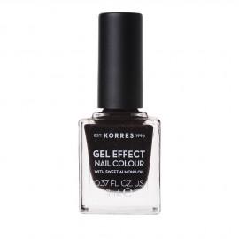 Korres Gel Effect Nail Colour 77 Sequins Plum 11 ml