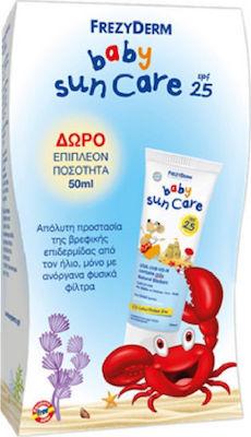 Frezyderm Promo Baby Sun Care SPF25 Παιδικό Αντηλιακό για Πρόσωπο/Σώμα 100ml & 50ml ΔΩΡΟ