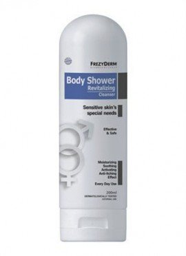 Frezyderm Body Shower Revitalizing Cleanser Καθαρισμός Ευαίσθητης Επιδερμίδας 200ml