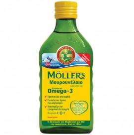 Mollers Μουρουνέλαιο Cod Liver Oil Γεύση Φυσική 250ml
