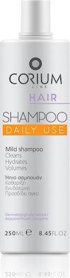 Corium Hair Shampoo Daily Use, \Ηπιο Σαμπουάν για Καθημερινή Χρήση 250ml