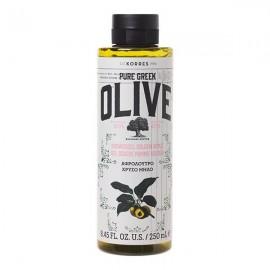 Korres Pure Green Olive Αφρόλουτρο Χρυσό Μήλο 250ml