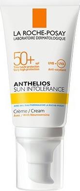 La Roche Posay Anthelios Sun Intolerance SPF50+, Αντηλιακή για Δυσανεκτικό Δέρμα 50ml