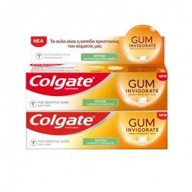Colgate Gum Invigorate Detox 75 ml 1+1