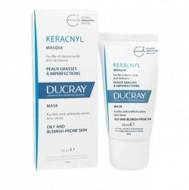 Ducray Keracnyl Masque, Μάσκα για Λιπαρό Δέρμα με Ατέλειες 40ml