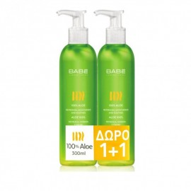 Babe Body Promo Pack Aloe 300ml 1+1 Δώρο