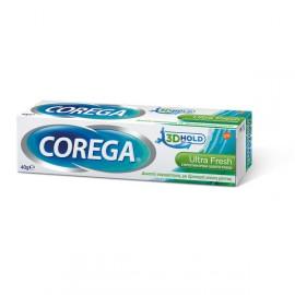 Corega 3D Hold Ultra Fresh Στερεωτική Κρέμα Οδοντοστοιχιών 40gr