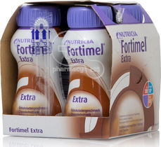Nutricia Fortimel Extra 4 x 200ml Σοκολάτα