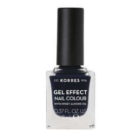 Korres Gel Effect Nail Colour 88 Steel Blue 11 ml