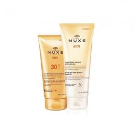 Nuxe Promo Sun Delicious Lotion SPF30 150ml & After Sun Hair & Body Shampoo 200ml