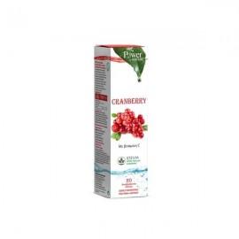Power Health Cranberry 20 Αναβράζοντα Δισκία με στέβια