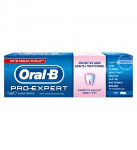 Oral-B Pro Expert Sensitive & Whitening Οδοντόκρεμα 75ml