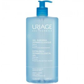 Uriage Extra-Rich Dermatological Gel sensitive skin 1000 ml